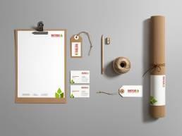 Branding Rusticus Corporate Design